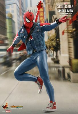 $ CDN317.36 • Buy Hot Toys Spider-Man Spider Punk Suit Marvel Action Figure VGM32 New Double Boxed