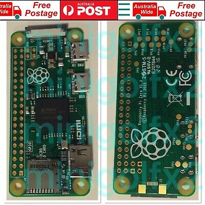 AU29.99 • Buy 2015 Raspberry Pi Zero V1.3 (NEW) (No Wifi)