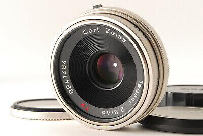 "$439.99 • Buy "" Mint+++   Contax Carl Zeiss Tessar T* 45mm F/2.8 100 Jahre MMJ From Japan E070"