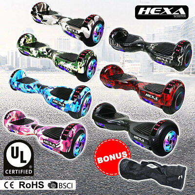 AU275 • Buy HEXA 6.5  Hoverboard Scooter Self Balancing Electric Hover Board Skateboard
