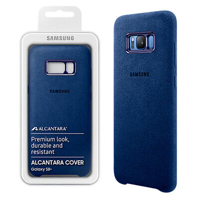 AU25.26 • Buy Official Genuine Samsung Galaxy  S8+ Plus Alcantra Back Case Cover Blue