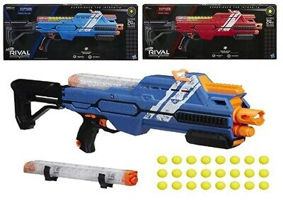AU199 • Buy Nerf Rival Hypnos XIX-1200 Blaster Red Blue Ages 14+ Toy Play Gun Fight Fire Fun
