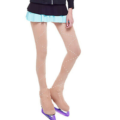 Over Boots Ice Figure Skating Tights Roller Skates Buckled Leggings Pants • 11.22£
