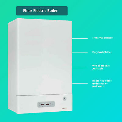 Electric Combi Boiler 3kW To 15kW, Modulating Central Heating & Hot Water- MAC15 • 2,258.10£
