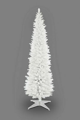 Slim Christmas Tree Pencil Green White Black Grey 4/5/6/7/8 Ft With Storage Box  • 24.95£