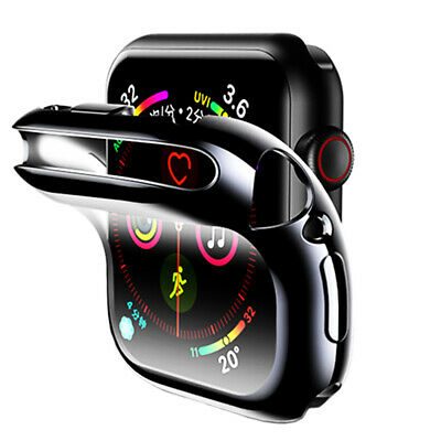 $ CDN4.73 • Buy Soft TPU Full Screen Protector Case Cover For Apple Watch Series 1/2/3/4/5