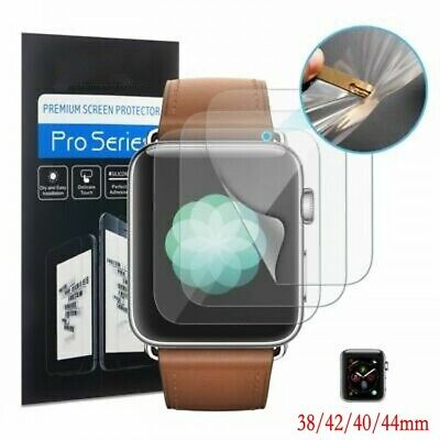 $ CDN2.69 • Buy 3pc TPU Hydrogel Screen Protector For Apple Watch Series 1/2/3/4/5 38/42/40/44mm