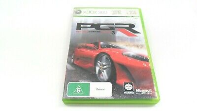 AU22.43 • Buy Pgr Project Gotham Racing 3 Xbox 360 Game X-box Microsoft Bizarre Creations