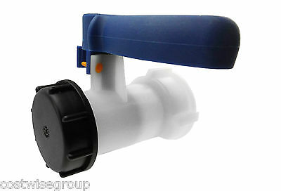IBC Tank S60X6 Replacement Valve Tap Water Oil Container  Pack Of 1 • 16.99£