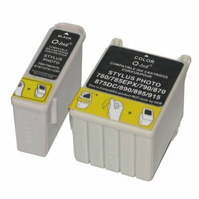 Compatible T007/T008 Set Of Ink Cartridge C13T00740310 For Epson Stylus 895 • 8.78£