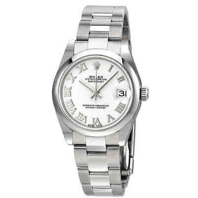 $ CDN9023.46 • Buy Rolex Datejust Lady 31 White Dial Stainless Steel Oyster Bracelet Automatic
