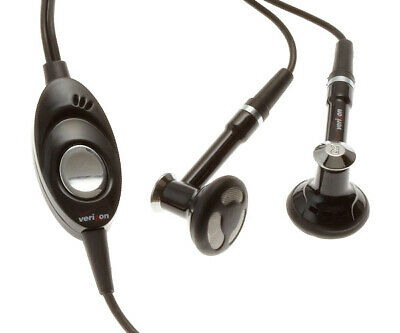 $ CDN18.94 • Buy HEADSET VERIZON HANDSFREE EARPHONES W MIC DUAL EARBUDS B5W For Smartphones