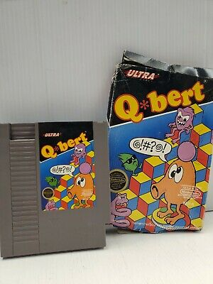 $ CDN20.30 • Buy Qbert (Nintendo Entertainment System, 1989) (Box Damaged) Fast Ship!