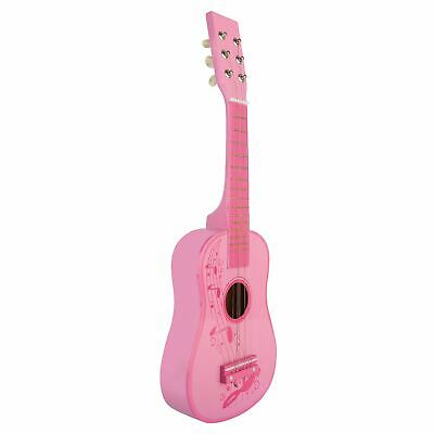 Childrens Childs Kids Wooden Guitar Acoustic Classic Musical Instrument Toy • 13.29£