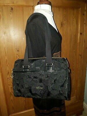 Kipling City Monkey Embossed Large Shoulder Hand Bag. Immaculate • 95£