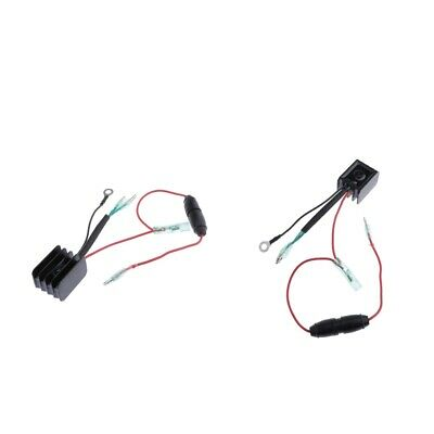 AU29.29 • Buy 2 Pieces Outboard Rectifier Regulator For Yamaha 25-70 HP 6G1-81970-61 84-01
