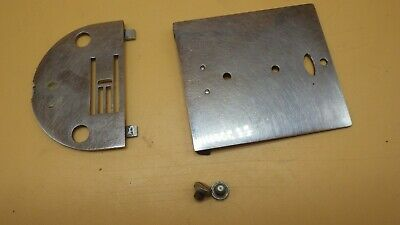 Genuine Vintage Necchi BU Mira Sewing Machine Bobbin & Needle Plates • 19.99$