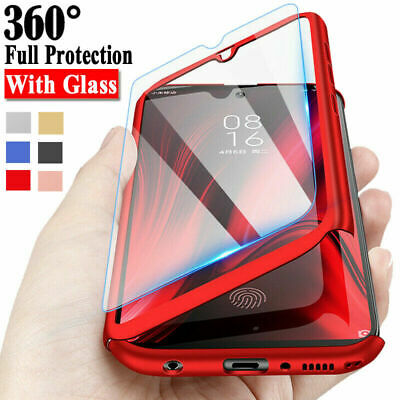 $ CDN5.24 • Buy For Samsung Galaxy  A71 A51 A70 A40 A21S S20 Full Cover Case + Tempered Glass