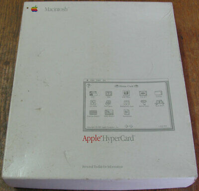 $55.01 • Buy Apple Macintosh HyperCard Plus SE II System 3.2 Finder 5.3 M0556B/A Contents New