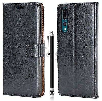 For Huawei Mate 20 P30 Pro Y6 Y7 P20 Phone Cover Leather Flip Wallet Book Case • 3.95£