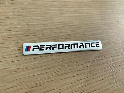 AU14.95 • Buy Chrome Alloy M Logo Embossed Badge Sticker For BMW M X1 X3 X4 X5 X6 M3 M5 GT