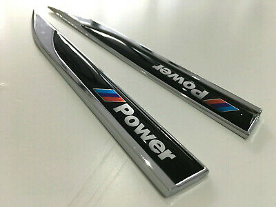 AU38.95 • Buy Metal M Power Badge Black Side Emblem Sticker For BMW M X1 X3 X4 X5 X6 M3 M5 GT