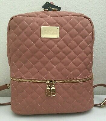 £25.09 • Buy NWT Bebe Los Angeles Danielle Quilted Laptop Backpack Bag Large WBE07 MSRP$109