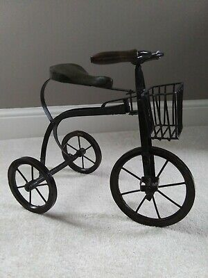 Tricycle Plant Stand Flower Pot Cart Holder Plant Lovers Home Garden Patio  • 4.99$