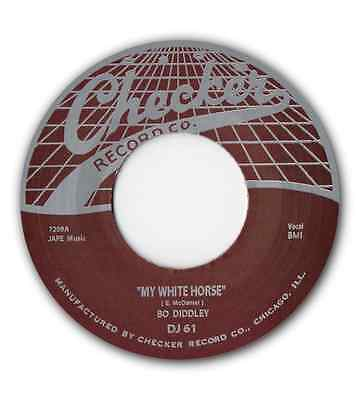 £7.50 • Buy BO DIDDLEY -  MY WHITE HORSE  B/w  DEED AND DEED I DO  (ALT VERSION) LISTEN