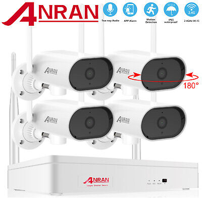 AU249.99 • Buy ANRAN CCTV Security WIFI Camera System Wireless Outdoor Home 8CH NVR Waterproof
