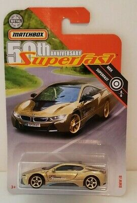 $1.95 • Buy 2019 Matchbox Gold Superfast 50th Bmw I8 HTF