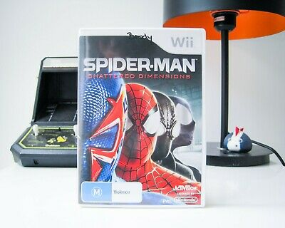 AU10 • Buy Spider-man: Shattered Dimensions - Nintendo Wii | Complete