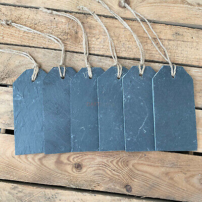 £5.99 • Buy Hanging Chalkboard Home Wedding Office Slate Memo Name Label Price Tags Signs
