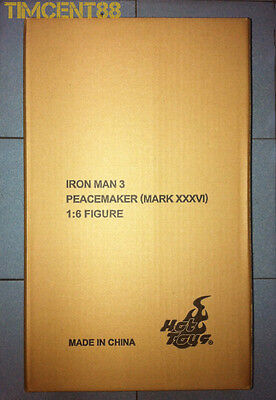 $ CDN431.68 • Buy Hot Toys MMS258 Iron Man 3 Mark 36 XXXVI 1/6 Peacemaker 2014 Exclusive New
