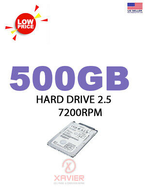 $ CDN92.02 • Buy Lot Of Hard Drive 500GB Laptop 2.5  SATA - Low Price - 4 Units - Brands - 7200