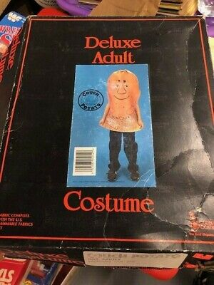 $ CDN33.98 • Buy Vintage Collegeville Couch Potato Halloween Costume New Old Stock Exib Rare MED