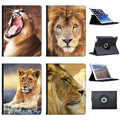 £9.99 • Buy Azzumo African Lion Big Cat Faux Leather Case Cover / Folio For The Apple IPad