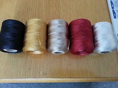 100mtrs.  RAYON  Whipping Thread..various Colours. • 4.20£