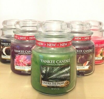 Yankee Candle Medium Jar Candle*** Free Postage*** Some Retired • 17.99£