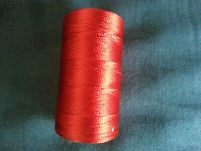 50mtrs.Very Strong SILK  Whipping Thread..RED COLOUR • 4.06£