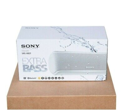 $49.95 • Buy New Sony SRS-XB21 Portable Extra Bass Bluetooth Speaker White Free Shipping