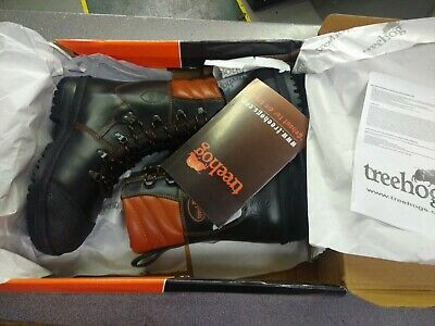 Treehog TUSK CLASS 2 Chainsaw Protective Safety Boot (43/9 44/10) • 120£