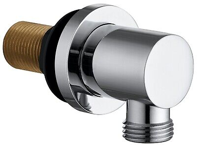 £8.95 • Buy Keenware KSA-003 Brass Shower Wall Elbow Outlet: Round