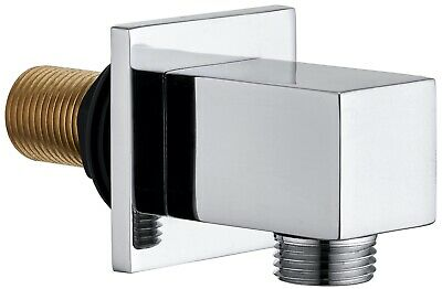 £10.99 • Buy Keenware KSA-004 Brass Shower Wall Elbow Outlet: Square
