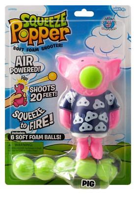 SOFT BALL SHOOTER PIG POPPER  - Cheatwell Games Toy For Kids Children • 9.65£