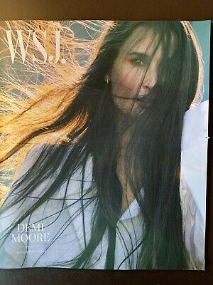 $15.95 • Buy Demi Moore - October 2019 Wall Street Journal Magazine