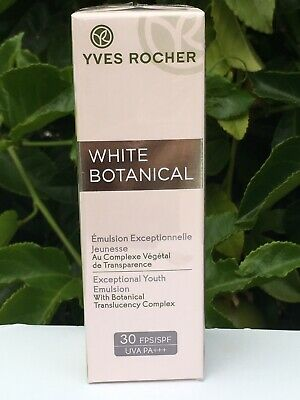 AU44.52 • Buy Yves Rocher White Botanical Exceptional Youth Emulsion SPF30 PA+++, 50ml