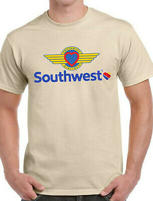 $18.95 • Buy Southwest Airlines #2 T-shirt  Ash, Black, Khaki, White Yellow. Size:Small-XXL.