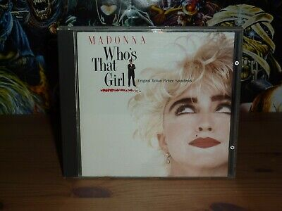 Madonna Who's That Girl OST CD (1987) • 4.99£