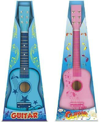 "Toyrific Wooden Wood Childrens Kids Girls Boys 23"" Guitar Muscial Instrument Toy • 14.73£"